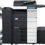 Develop Ineo+ 454e Colour Copier document feeder finisher and large capacity trays
