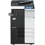 Develop Ineo+ 284e Colour Copier document feeder and trays