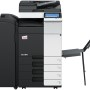 Develop Ineo+ 284e Colour Copier document feeder finisher and banner tray