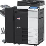 Develop Ineo+ 364e Colour Copier document feeder finisher and trays