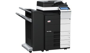 Develop Ineo+ 454e Colour Copier document feeder finisher and trays