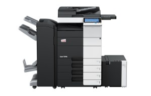 Develop Ineo+ 554e Colour Copier document feeder finisher and large capacity trays