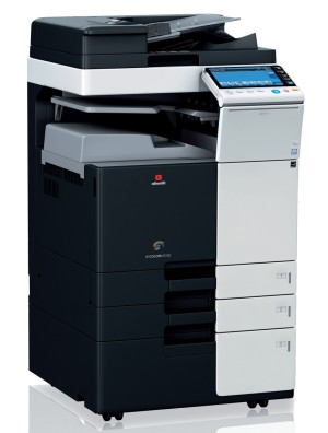 Olivetti d-Color MF222plus Colour Copier document feeder and trays