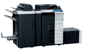 Olivetti d-Color MF752plus Colour Copier document feeder finisher stapler saddle kit and large capacity trays